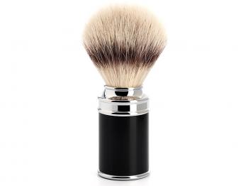 Mühle Rasierpinsel Traditional Silvertip Fibre® schwarz