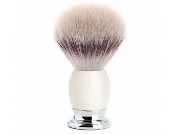 Mühle Rasierpinsel Sophist Silvertip Fibre®  Porzellan weiß