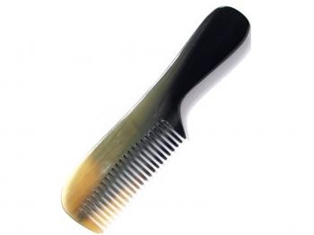 Kamm echt Horn dunkel ca. 16,5 cm
