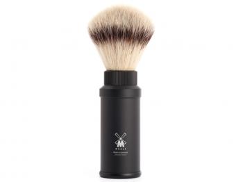 Mühle Reise - Rasierpinsel Silvertip Fibre® schwarz
