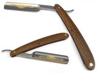 DOVO Rasiermesser Silversteel 5/8 Zoll Hohlschliff Bocote
