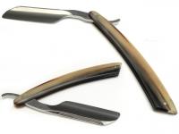 Aust Rasiermesser 5/8 Zoll Edelstahl Grenadilleheft