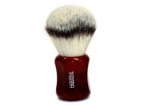 Thäter Rasierpinsel Silver-Synthetik Kunsthaar 26mm imperial red