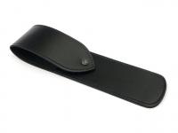DOVO Lederetui (schwarz) für Rasiermesser